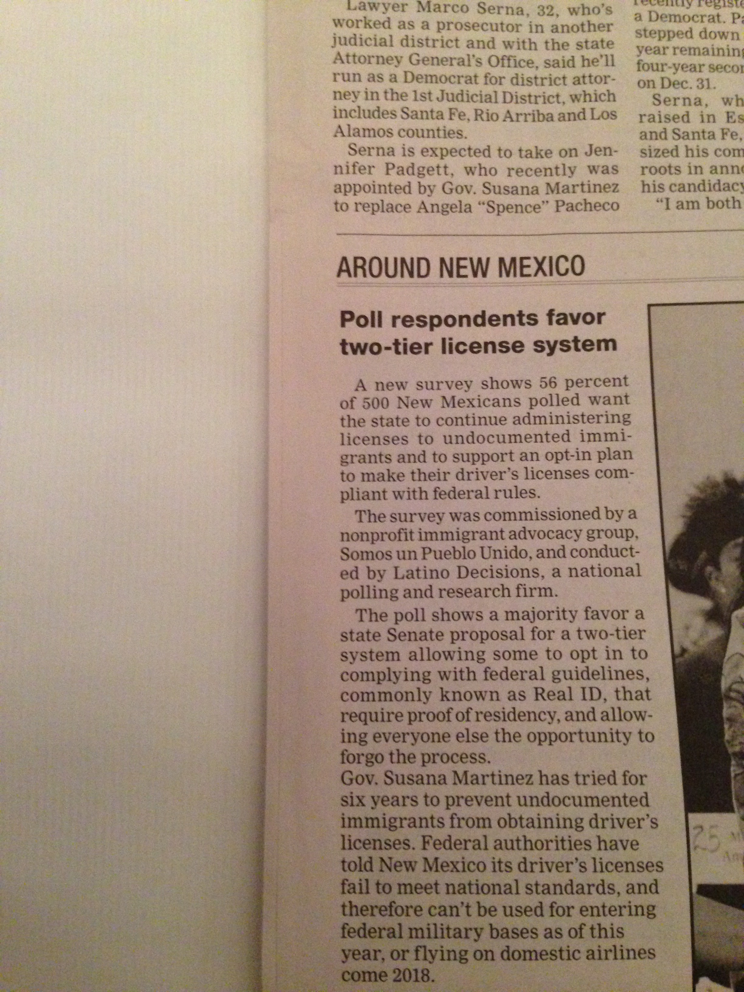 new mexico drivers license restriction b